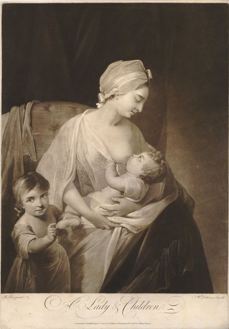 A Lady & Children 1780