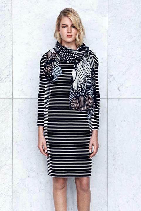 Marimekko striped dress