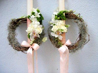 yau concept_yau flori+in doi+lumanari nunta+cununie