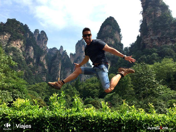 Continuamos en China con Aventuhero, visita un lugar mágico y de película, ¿Conoces #Pandora? 1ª Parte de su nueva aventura: http://www.viajes.carrefour.es/blog/viajes-aventuhero/china-la-tierra-inabarcable-primera-parte/    #ViajesCarrefour #China #Vuelos #Aventuhero #Avatar