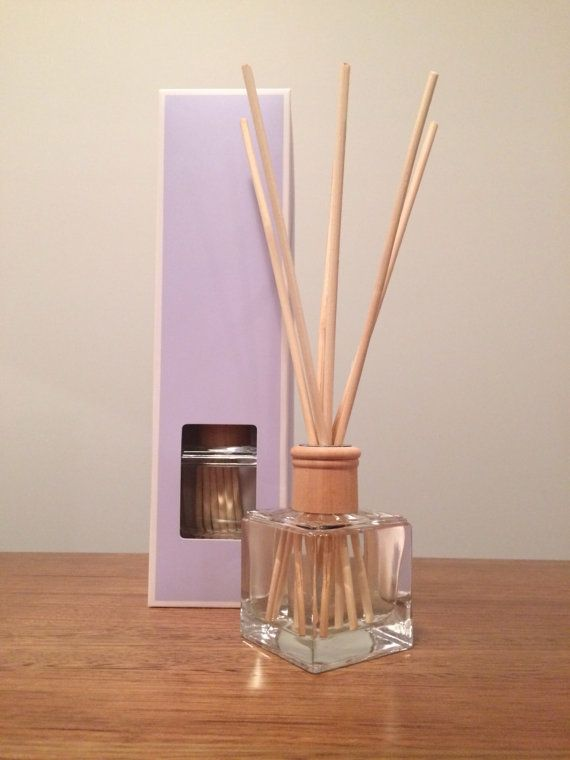 Reed Diffuser, Gift Boxed with your choice of fragrance by TheNaturalProductsCo