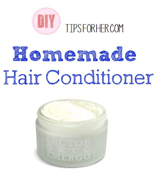 Homemade Hair Conditioner - Store bought products dry out and damage your hair. This homemade conditioner moisturizes your scalp, removes product buildup and leaves your hair soft and shiny