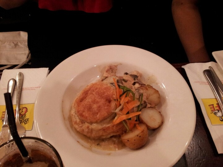Chicken pie @ Belgium Beer cafe