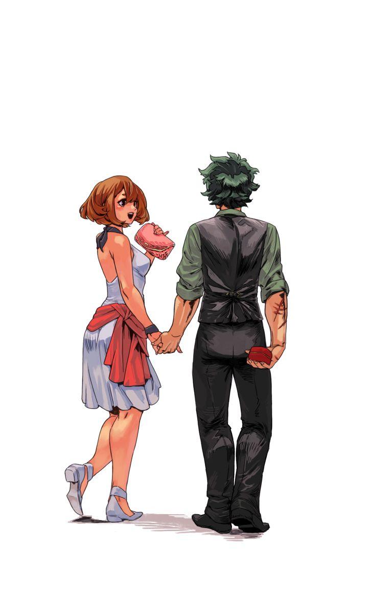 Boku no Hero Academia || Uraraka Ochako, Midoriya Izuku. (OchakoxDeku) Part3 Final