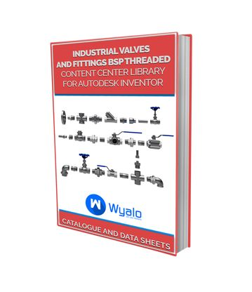Free e-book valves and fittings for Inventor