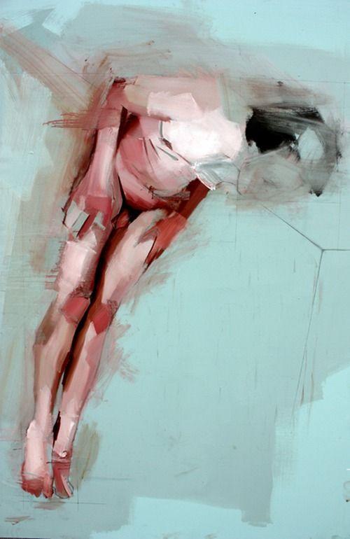"""Saatchi Online Artist: Benjamin Cohen; """"'Study of a Torso'"""""""