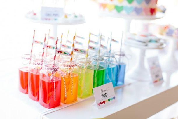 festa arco-iris, rainbow party, festa infantil, festa meninas, girls party, kids party