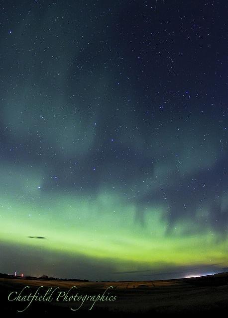 Northern Lights - Saskatoon, Saskatchewan, Canada