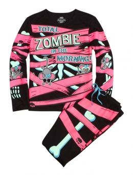 Zombie In The Morning Pajama Set