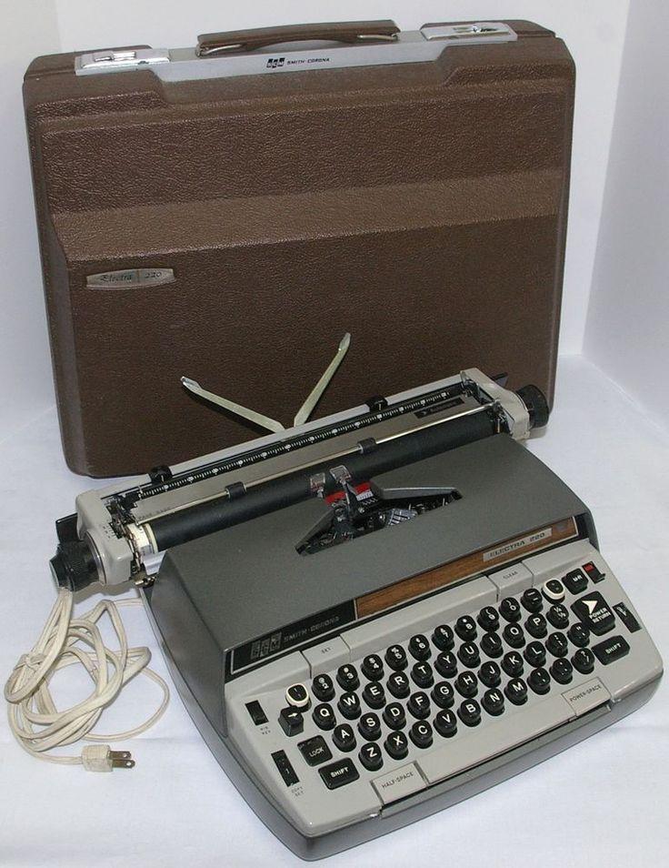 The Typewriter Database - Version Epsilon