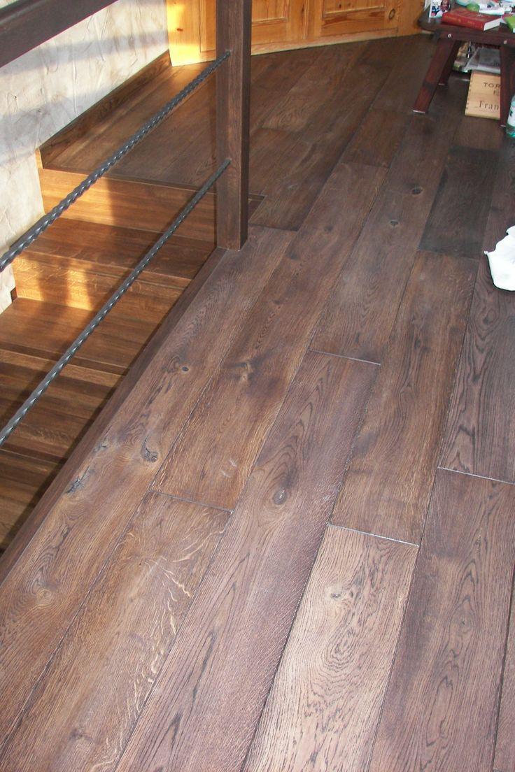 podłoga drewniana, deska dębowa Panmar Wood Serrant, szer. 195 mm