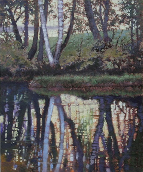 381 best schilderen natuur images on pinterest for Garden trees kent