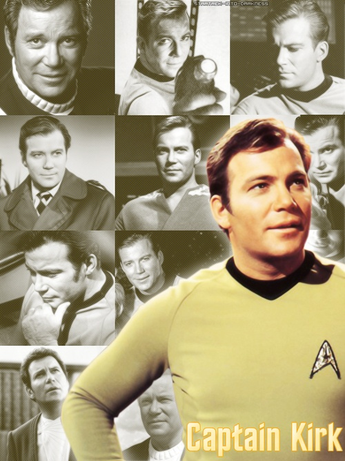 Captain of the USS Enterprise James T. Kirk