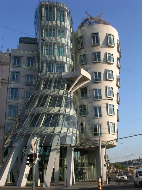 The Dancing Building in Prague is now #4 on my list!