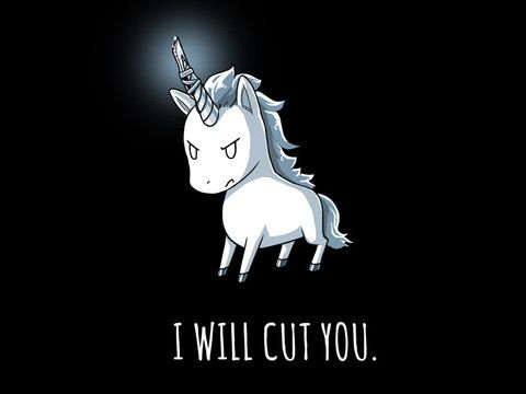 Stabby the Unicorn | TeeTurtle