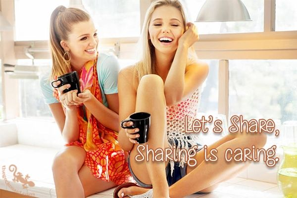 Let's share, Sharing is caring.  #share #sharing #caring #quotes  ©The Gecko Said - Beautiful Quotes