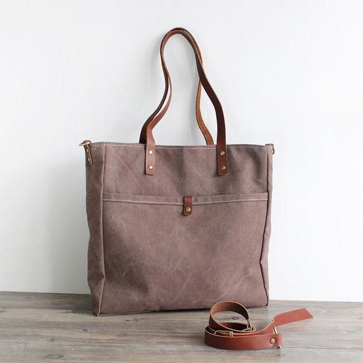 Tote bag Handmade Canvas Messenger Bag Shoulder Bag Handbag 16000