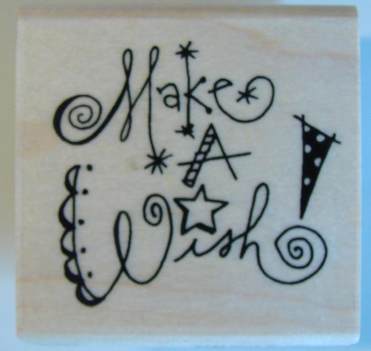 make a wish! doodle