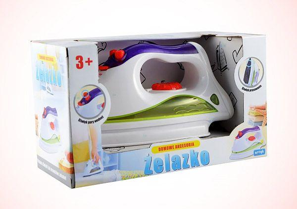 Zabawka żelazko. Wydaje dźwięki jak prawdziwe.  #zabawki #supermisiopl
