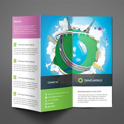 Best Brochure Template Ideas Images On   Brochures