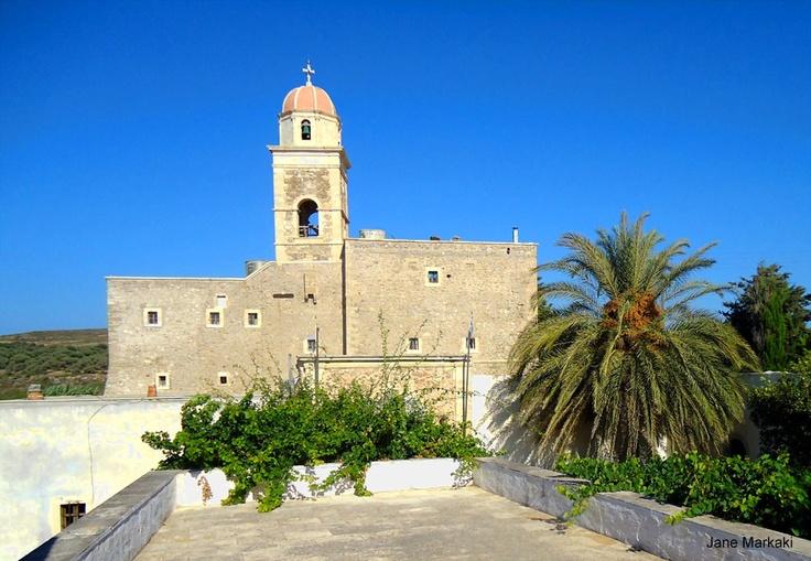 Toplou monastery in Sitia Crete!  Discover the authentic Crete! Photo Taken By :Jane Markaki