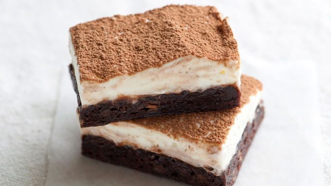 The taste of tiramisu in a brownie? Sì, per favore. Cream cheese, rum and coffee transform fudgy brownie mix into Italy's most popular dessert.
