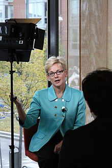 Jennifer Granholm is one of the most inspiring women in the U.S. and wonderful voice in the Democratic Party.