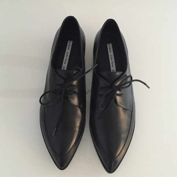 NIB & Other Stories Black Flat Brogue Oxfords 38 Brand new in box black leather oxfords from & Other Stories, super hard to find. Size 37. No trades. & Other Stories Shoes Flats & Loafers