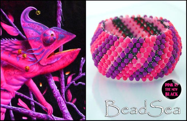 "Bracelet ""Tethyda"" made by BeadSea"