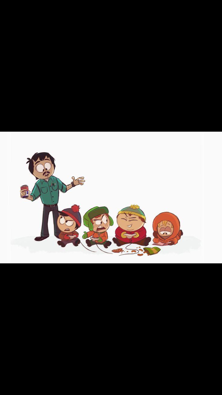 South Park | The four Boys | Kyle Broflovski | Stan Marsh | Eric Cartman | Kenny McCormick |kyman/ style | fanart | randy