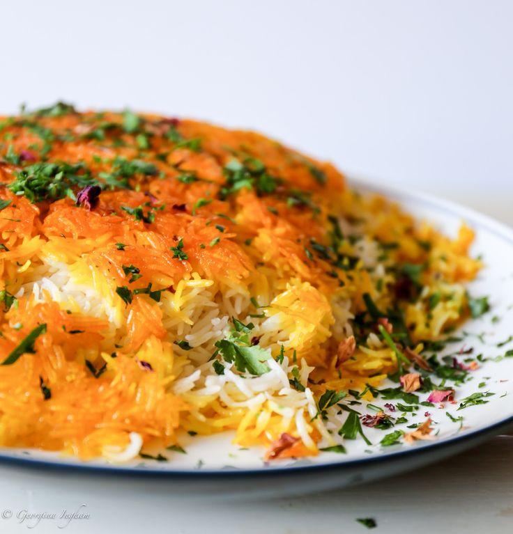 Georgina Ingham | Culinary Travels Saffron Tales Chelow