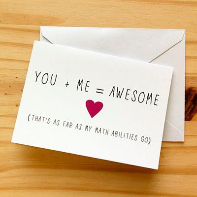 Hint hint, this is the kinda card we'd like to get on #ValentinesDay.