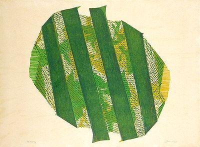 AN - AM 1970 | Maria Bonomi xilogravura, c.i.d., E/A 93.00 x 95.00 cm