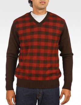 PLAID BODY PULLOVER Style :  #08162-0011 Rs 2,799.00