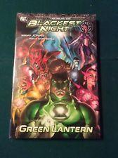 GREEN LANTERN BLACKEST NIGHT Geoff Johns & Doug Mahnke 1st ed HC DC COMICS fine