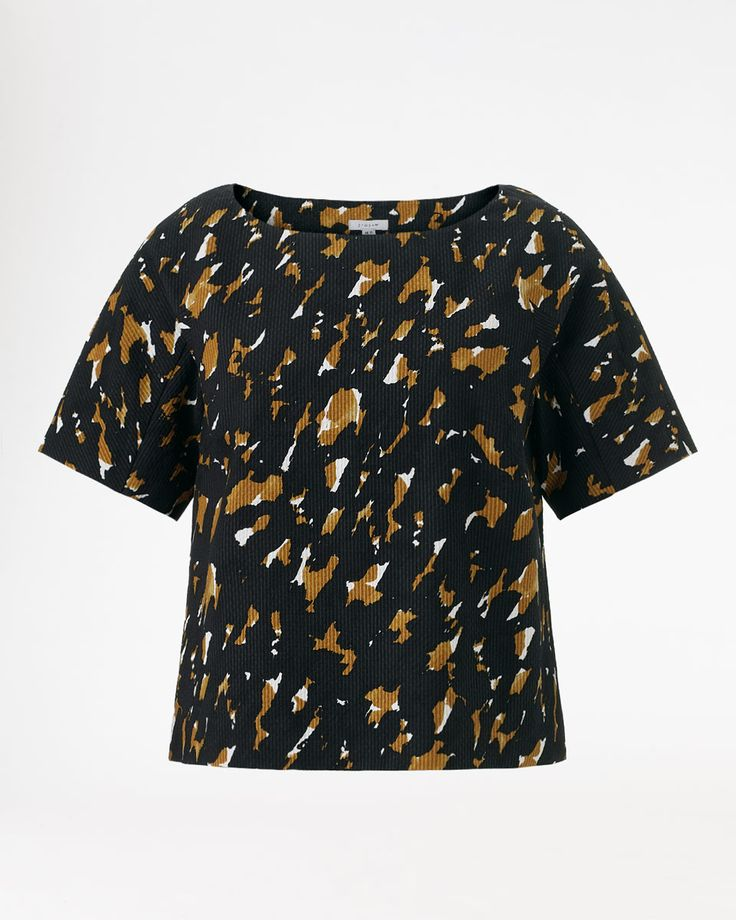 Jigsaw Painted Abstract T-Shirt, £89.
