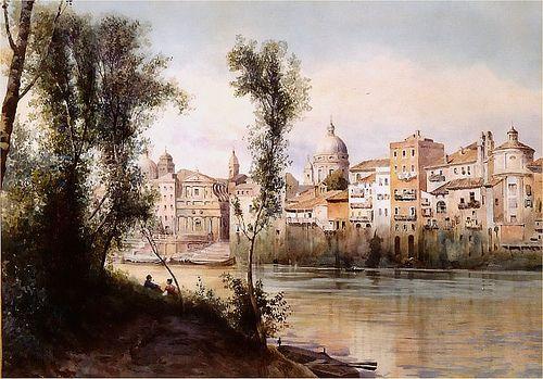 Flickr 1886 porto di Ripetta dai prati di castello