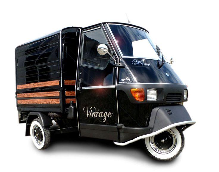 """Piaggio Ape 50 """"Vintage"""" - Kastenversion by Casa Moto"""