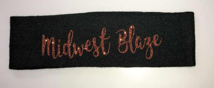 "Custom Headband, Stretchy Cotton Hair band, Sweatband, 2-2.5 "", Add Name, team, logo, party favor, bachelorette, birthday, personalized gift"