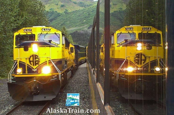 Alaska Railroad Adventure Class Train Service | AlaskaTrain.com Alaska Railroad locomotion