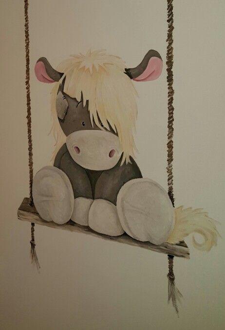 Blue nose horse babykamer