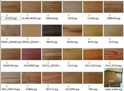 Tipos de maderas: su clasificación
