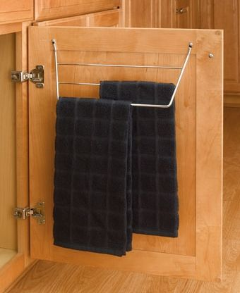 """""""Store dish towels right where you need them with our 563 Towel Holders.Perfect for under sink applications."""""""