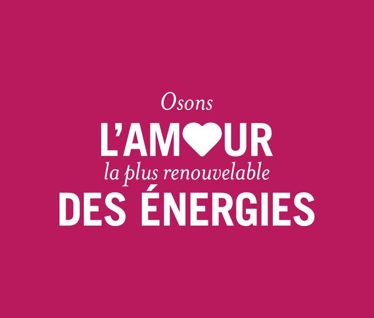 Osons | Fondation Nicolas Hulot Osons l'amour, la plus renouvelable des énergies