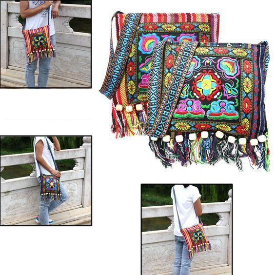 Хмонг винтажный этнический наплечная ручная женская сумка вышивка бохо хиппи с кисточкой, ручная женская сумка через плечо | Одежда, обувь и аксессуары, Женские сумки, Сумочки и клатчи | eBay!