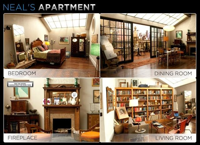how to get neal caffrey apartment pinterest - Google Search