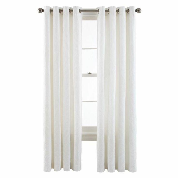 Jcpenney Royal Velvet Whittier Grommet Top Curtain Panel