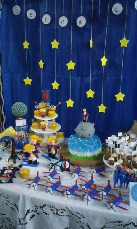 Cumpleaños temático El Principito- CandyBar