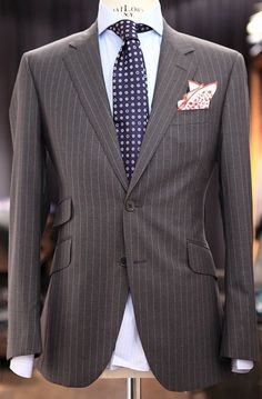 25 best ideas about grey pinstripe suit on pinterest for Light blue pinstripe shirt