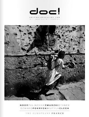 doc! photo magazine is a monthly magazine devoted to photography. Although it focuses on documentary photography, in particular on photo stories, doc! photo also presents other forms of photographic expression.